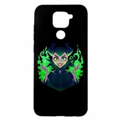 Чехол для Xiaomi Redmi Note 9/Redmi 10X Evil Maleficent