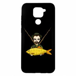 Чохол для Xiaomi Redmi Note 9/Redmi 10X Fisherman and fish