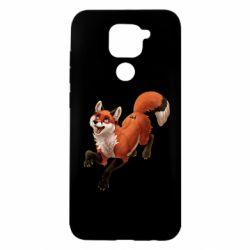 Чехол для Xiaomi Redmi Note 9/Redmi 10X Fox in flight