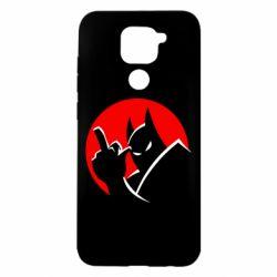 Чехол для Xiaomi Redmi Note 9/Redmi 10X Fuck Batman