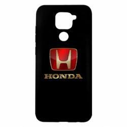 Чехол для Xiaomi Redmi Note 9/Redmi 10X Gold Honda