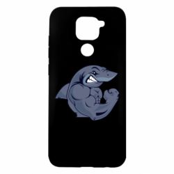 Чохол для Xiaomi Redmi Note 9/Redmi 10X Gym Shark