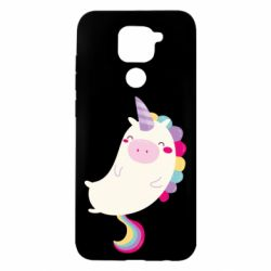 Чехол для Xiaomi Redmi Note 9/Redmi 10X Happy color unicorn