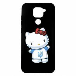 Чехол для Xiaomi Redmi Note 9/Redmi 10X Hello Kitty UA
