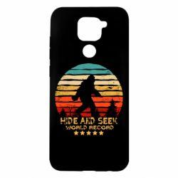 Чехол для Xiaomi Redmi Note 9/Redmi 10X Hide and seek world record