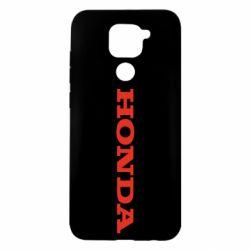 Чохол для Xiaomi Redmi Note 9/Redmi 10X Honda напис