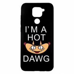 Чехол для Xiaomi Redmi Note 9/Redmi 10X Im hot a dawg