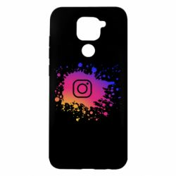 Чехол для Xiaomi Redmi Note 9/Redmi 10X Instagram spray