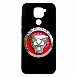 Чехол для Xiaomi Redmi Note 9/Redmi 10X Jaguar emblem