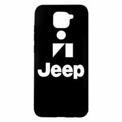 Чохол для Xiaomi Redmi Note 9/Redmi 10X Jeep Logo