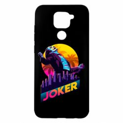 Чехол для Xiaomi Redmi Note 9/Redmi 10X Joker neon art