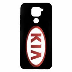 Чохол для Xiaomi Redmi Note 9/Redmi 10X KIA 3D Logo