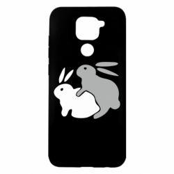 Чохол для Xiaomi Redmi Note 9/Redmi 10X Кролики