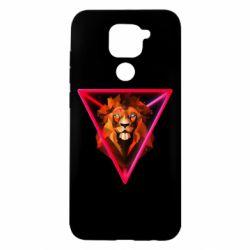 Чохол для Xiaomi Redmi Note 9/Redmi 10X Lion art