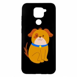 Чехол для Xiaomi Redmi Note 9/Redmi 10X Little funny dog