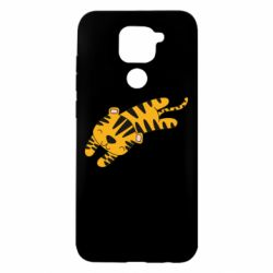 Чехол для Xiaomi Redmi Note 9/Redmi 10X Little striped tiger