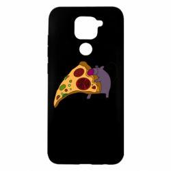 Чехол для Xiaomi Redmi Note 9/Redmi 10X Love Pizza 2
