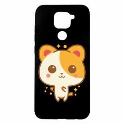 Чехол для Xiaomi Redmi Note 9/Redmi 10X Милая кися