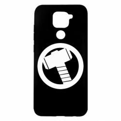 Чехол для Xiaomi Redmi Note 9/Redmi 10X Молот Тора