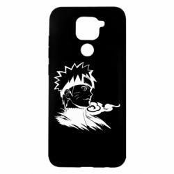 Чехол для Xiaomi Redmi Note 9/Redmi 10X Naruto Uzumaki head
