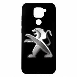 Чохол для Xiaomi Redmi Note 9/Redmi 10X Peugeot Logo