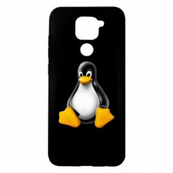 Чохол для Xiaomi Redmi Note 9/Redmi 10X Пингвин Linux
