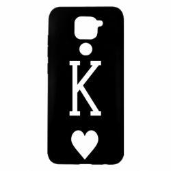 Чехол для Xiaomi Redmi Note 9/Redmi 10X Playing Cards King