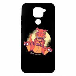 Чехол для Xiaomi Redmi Note 9/Redmi 10X Playing dinosaur