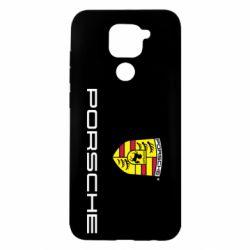 Чехол для Xiaomi Redmi Note 9/Redmi 10X Porsche