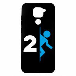 Чехол для Xiaomi Redmi Note 9/Redmi 10X Portal 2 logo
