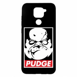 Чехол для Xiaomi Redmi Note 9/Redmi 10X Pudge Obey