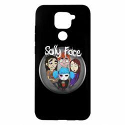 Чехол для Xiaomi Redmi Note 9/Redmi 10X Sally face soundtrack