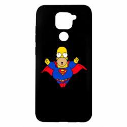 Чехол для Xiaomi Redmi Note 9/Redmi 10X Simpson superman