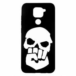 Чехол для Xiaomi Redmi Note 9/Redmi 10X Skull and Fist