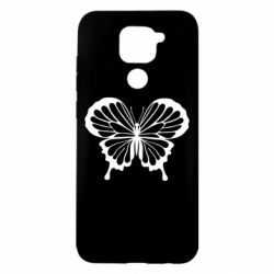Чехол для Xiaomi Redmi Note 9/Redmi 10X Soft butterfly