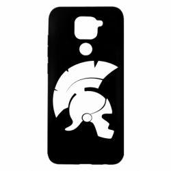 Чехол для Xiaomi Redmi Note 9/Redmi 10X Spartan helmet