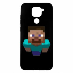 Чехол для Xiaomi Redmi Note 9/Redmi 10X Steve from Minecraft
