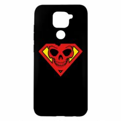 Чехол для Xiaomi Redmi Note 9/Redmi 10X Superman Skull