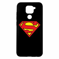 Чехол для Xiaomi Redmi Note 9/Redmi 10X Superman Symbol