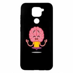Чехол для Xiaomi Redmi Note 9/Redmi 10X The brain meditates