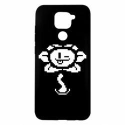 Чехол для Xiaomi Redmi Note 9/Redmi 10X Undertale Flowey
