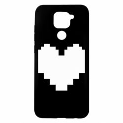 Чехол для Xiaomi Redmi Note 9/Redmi 10X Undertale heart