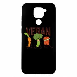 Чохол для Xiaomi Redmi Note 9/Redmi 10X Веган овочі