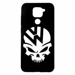 Чехол для Xiaomi Redmi Note 9/Redmi 10X Volkswagen Skull