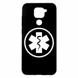 Чехол для Xiaomi Redmi Note 9/Redmi 10X Warface: medic