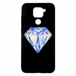 Чехол для Xiaomi Redmi Note 9/Redmi 10X Watercolor diamond