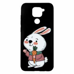 Чехол для Xiaomi Redmi Note 9/Redmi 10X Winter bunny