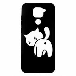 Чохол для Xiaomi Redmi Note 9/Redmi 10X злий коте