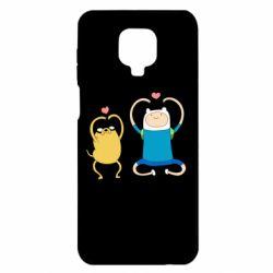 Чехол для Xiaomi Redmi Note 9S/9Pro/9Pro Max Adventure time