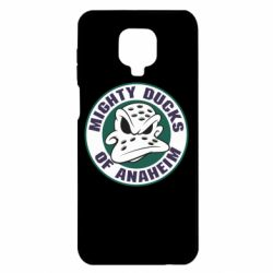 Чехол для Xiaomi Redmi Note 9S/9Pro/9Pro Max Anaheim Mighty Ducks Logo